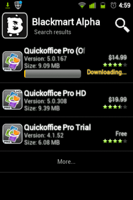 Quick Office Pro $14.99